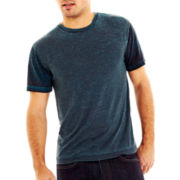 Color Block Duo Dye Tee