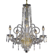 Gallery Murano Venetian-Style 5-Light All-Crystal Chandelier
