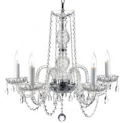 Gallery Murano 5-Light All-Crystal Chandelier