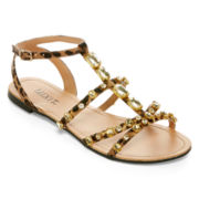 Mixit™ Jeweled Multi-Strap Sandals