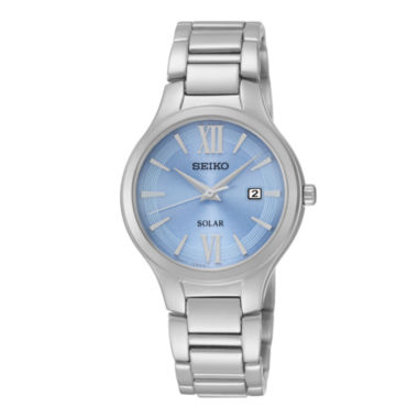 jcpenney.com | Seiko® Womens Stainless Steel Solar Bracelet Watch SUT209