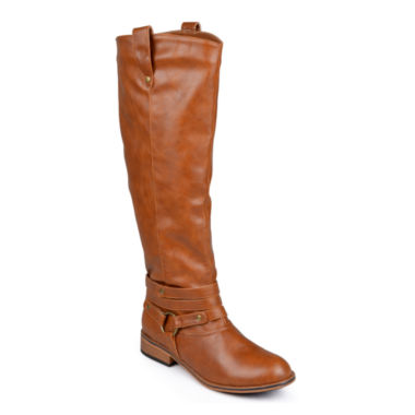 jcpenney.com | Journee Collection Walla Riding Boots - Extra Wide Calf