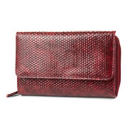 Mundi® Big Fat Rockin' Faux-Reptile Wallet