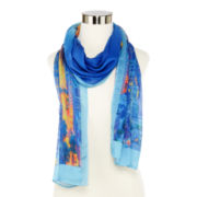 Mixit™ City Skyline Scarf