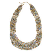 Decree® Multicolor Seedbead Necklace