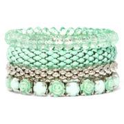 Mint Multipack Stretch 4-pc. Bracelet Set