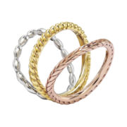 Personally Stackable Wave Rings