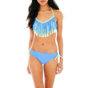 Arizona Bralette Swim Top or Keyhole Hipster Bottoms - Juniors