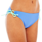 Arizona Keyhole Hipster Swim Bottoms - Juniors