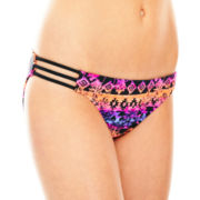 Arizona Side-Strap Hipster Swim Bottoms - Juniors