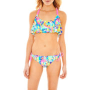 Arizona Flounce Swim Top or Sweet Pea Hipster Bottoms - Juniors
