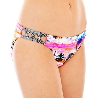 jcpenney.com | Arizona Side-Tie Hipster Swim Bottoms - Juniors