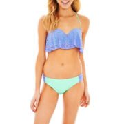 Arizona Flounce Swim Top or Side-Tab Bottoms - Juniors