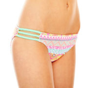 Arizona Braided Hipster Swim Bottoms - Juniors