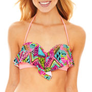 Arizona Print Bandeau Swim Top - Juniors