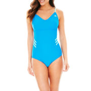 adidas® Adjustable 1-Piece Swimsuit