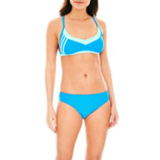 adidas® Racerback Sport Swim Top or Basic Hipster Bottoms