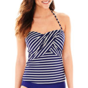 Liz Claiborne® Bandeaukini Swim Top
