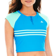adidas® Swim Cropped Top