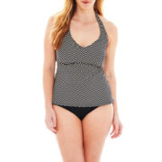 Liz Claiborne® Halterkini Swim Top or Hipster Bottoms - Plus