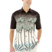 Island Shores™ Short-Sleeve Printed Rayon Shirt