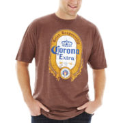 Corona® Long Label Graphic Tee–Big & Tall