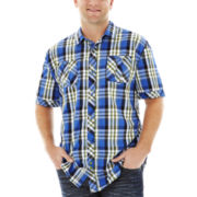 i jeans by Buffalo Moxi Short-Sleeve Woven Shirt–Big & Tall