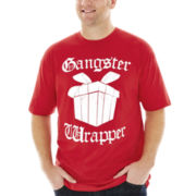 Gangster Wrapper Graphic Tee–Big & Tall