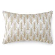 Liz Claiborne® Aria Leaf Oblong Decorative Pillow