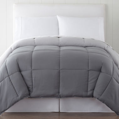 jcpenney.com | JCPenney Home™ Classic Light-Warmth Down-Alternative Reversible Comforter
