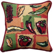 Park B. Smith® Hot Peppers Decorative Pillow