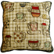 Park B. Smith® Rustic Café Decorative Pillow