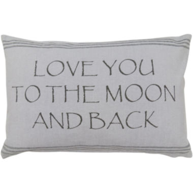 jcpenney.com | Park B. Smith® Moon and Back Oblong Decorative Pillow