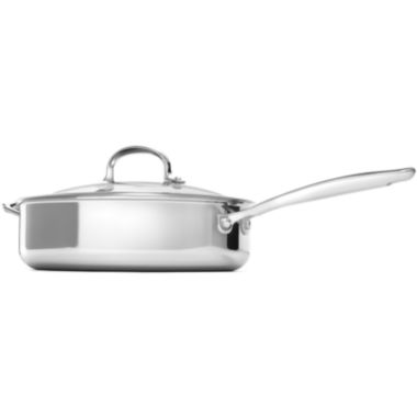 "jcpenney.com | OXO® Pro 10"" Stainless Steel Skillet with Lid"