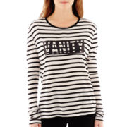 MNG by Mango® Long-Sleeve Vanity Striped Tee