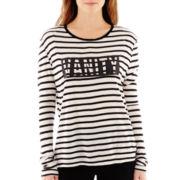 MNG by Mango® Long-Sleeve Vanity Striped Tee