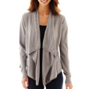 a.n.a® Long-Sleeve Flyaway Cardigan Sweater
