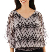 Alyx® Elbow-Sleeve Print Top