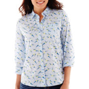 Stylus™ Long-Sleeve Essential Print Shirt