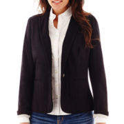 Stylus™ Long-Sleeve Knit Blazer - Tall