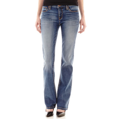jcpenney.com | Stylus Bootcut Jeans-Petites
