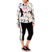 Xersion™ Half-Zip Jacket or Side-Inset Capris - Plus
