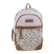 Unionbay® Floral Stripe Backpack