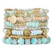Decree® 8-pc.Multi Bracelet Set