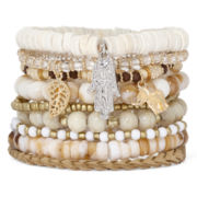 Decree® 9-pc. Multi Bracelet Set