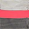 Ivory Blk Hot PinkSwatch