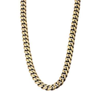 "jcpenney.com | Gold Tone Stainless Steel 22"" Curb Chain Necklace"