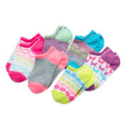 Total Girl® 6-pk. Rainbow Shorty Socks - Girls 6-11