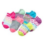 Total Girl® 6-pk. Rainbow Shorty Socks - Girls 6-11