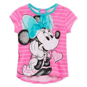 Disney Apparel by Okie Dokie® Minnie Mouse Tee - Toddler Girls 2t-5t